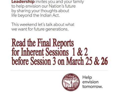 Inherent Rights Workshops 1 & 2 Final Reports