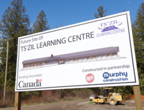 New Ts̓zil Learning Centre breaks ground