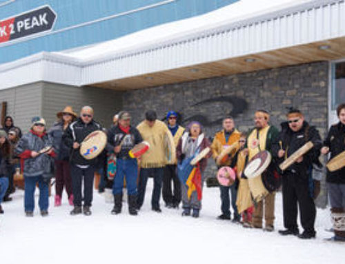 Lílwat celebrates the signing of MDAs on Whistler Mountain