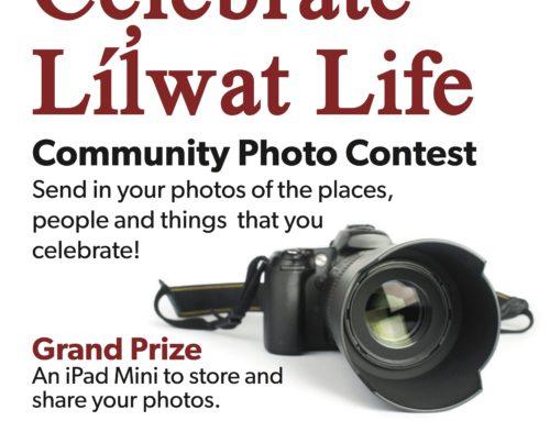 Celebrate Líl̓wat Life Photo Contest