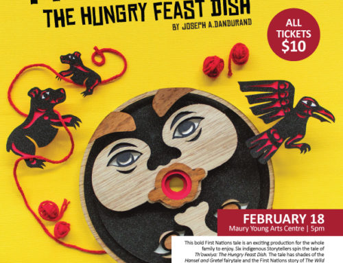 Th'owxiya: The Hungry Feast Dish at Maury Young Arts Centre in Whistler