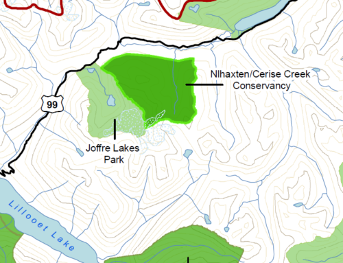 The Nlhaxten/Cerise Creek Conservancy is CLOSED